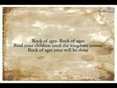 ▶ Rock of Ages (When The Day Seems Long) - Sandra McCracken - YouTube