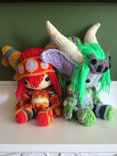 Alexstrasza and Ysera - World of Warcraft by GamerKirei.deviantart.com on @DeviantArt