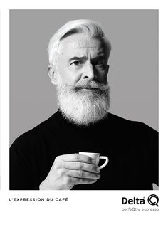 Black and White Portrait for Delta Q, Portugese Coffee  Agency : Disko