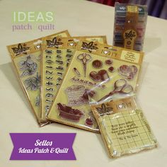 Sellos Ideas Patch & Quilt
