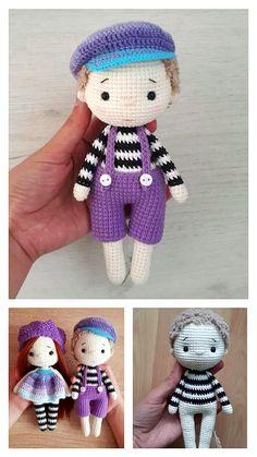 Crochet Monkey Pattern, Doll Amigurumi Free Pattern, Crochet Amigurumi Free Patterns, Crochet Bunny, Crochet Yarn, Free Crochet, Crochet Snowman, Pattern Cute, Crochet For Boys