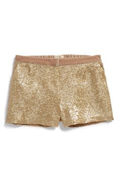 Johnnie B by Boden Sequin Shorts (Big Girls) available at #Nordstrom