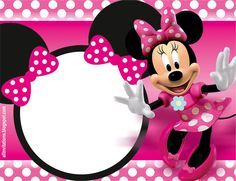 Minnie Mouse Birthday Party Invitation Template Free Free Birthday - Mickey mouse birthday invitation template