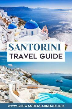Santorini Travel, Greece Travel, Greece Trip, Santorini Greece, Europe Travel Guide, Travel Destinations, Travel Guides, Greece Itinerary, European Travel