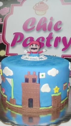 Pastel Fondant Mario Bros