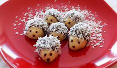 Vánoční ježci, recept na cukroví Christmas Time, Christmas Recipes, Christmas Cookies, Doughnut, Sweet Treats, Muffin, Food And Drink, Christmas Decorations, Baking