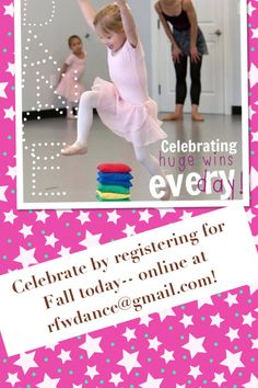 Fall registration open! Dance with RFW!