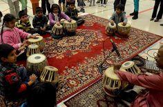 Riteshji gives a tabla class demo in Bramton Dance Art, Toronto, Events, Music, Home Decor, Musica, Musik, Decoration Home, Room Decor