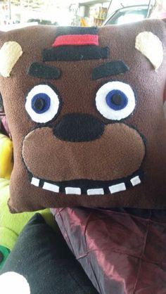 FNAF Freddy fazbear throw pillow