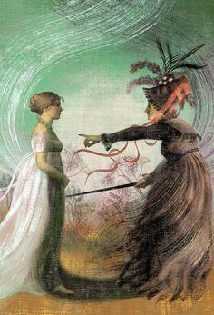 Pride and Prejudice by Jane Austen, Anna + Elena = Balbusso Portfolio - Painterly style