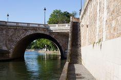 Great underbridge view @ Ile Saint Louis !     Picture taken by Mohamed Khalil  http://jeudepaumehotel.com/ile-saint-louis/