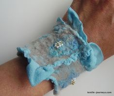 Nuno felting is a great felting project. But why you ask???Top three reasons why I think nuno felt is a great project for both novices and experienced felters: Gives a lovely finish on both sides ...