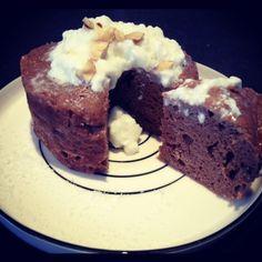 Protein chocolate cake - En cuisine avec Marie