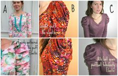 A really cool ruched sleeve tutorial.