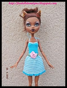 Monster High: handmade dress by Fordollsboutique