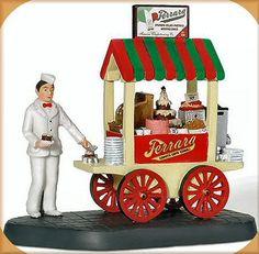 Ferraras Bakery Cart NEW Department Dept. 56 Christmas In The City