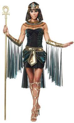 Womens Egyptian Goddess Costume