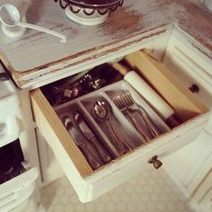 The stuff inside tiny drawers :) | Flickr - Photo Sharing!