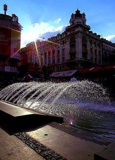Belgrade, end of August.