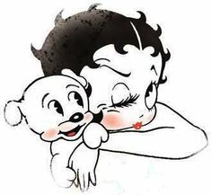 Betty Boop Pictures Archive: Betty Boop and Pudgy pictures