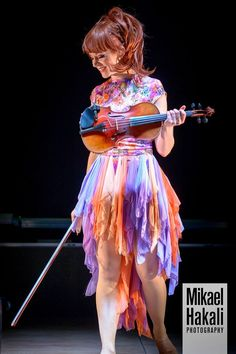 Random pic from stage #LindseyStirling #MusicBoxTour