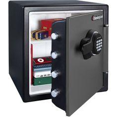 Fire Proof Safe Digital Electronic Keypad Home Office Jewelry Security 1.2 Cu Ft #SentrySafe