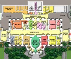 Here S A Site That Can Keep You Busy For A Long Time This Virtual Tour Of The White House Has White House Christmas House Floor Plans Modern House Floor Plans