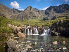 The Fairy Pools at Glen Brittle, Isle of Skye, Scotland