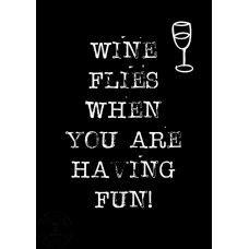 Ansichtkaart byBean Wine flies...