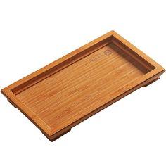 Bamboo Tea Tray / Saucer Chinese Tea Set, Tea Tray, Bamboo