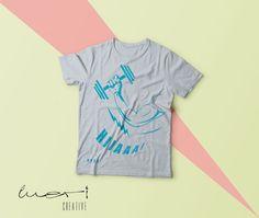 PT2K (Personal Trainer Kaan Kılıçarslan) için yaptığımız T-shirt Tasarımı