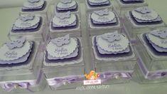 Caixinhas de acrílico - Borboletas