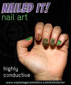 Help Kickstart Nerdy Nail Art From Espionage Cosmetics