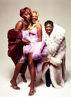 Mary J. Blige, Lil' Kim, and Missy Elliot
