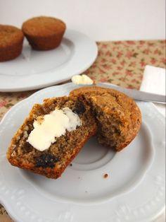 "Gluten Free Raisin ""Bran"" Muffins by www.thebakingbeauties.com"