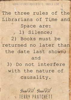 The Librarians of Time and Space
