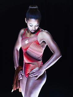 Canadian Olympic diver Jennifer Abel, photographed by artist Jean-Francois Berube. His portraits of Canadian athletes will be on display at Canada House in London, UK, from Aug 23 - Sept 10, 2012