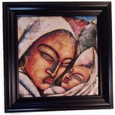 Madonna and Child Framed Art