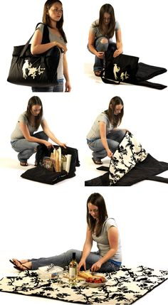 picnic bag and rug in one | the style files