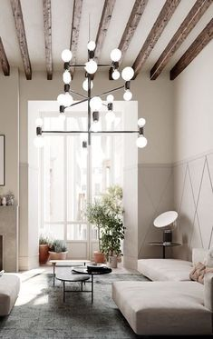 Find out why modern living room design is the way to go! A living room design to make any living room decor ideas be the brightest of them all. Interior Simple, Loft Interior, Interior Design, Living Room Designs, Living Room Decor, Living Spaces, Bedroom Decor, Bedroom Ideas, Modern Bedroom