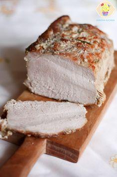 Mielonka (zwana teĹź luncheon meat) z szynkowara Cold Cuts, Kielbasa, Banana Bread, Sandwiches, Food And Drink, Cooking Recipes, Cheese, Snacks, Baking