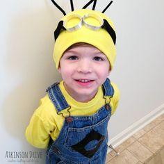 No-Sew Despicable Me Minion Halloween Costume   Atkinson Drive