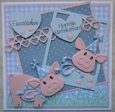Baby Shower Cards, Baby Cards, Marianne Design Cards, Old Cards, Tag Design, Animal Cards, Card Tags, Cute Cards, Creative Cards