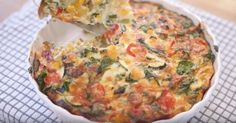 Popular vlogger Barry Lewis of My Virgin Kitchen has created an amazingly tasty fully loaded vegetable frittata - a perfect main meal for the whole family! To watch the video click here or press play on the main image above.