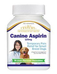 Canine Aspirin 120mg 75 Chewable Tablets ** Find out more about the great product at the image link.