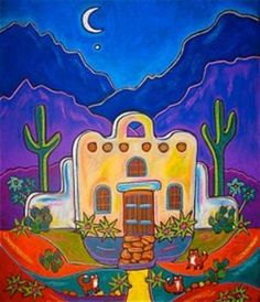 Church at Night - Jenny Willigrod
