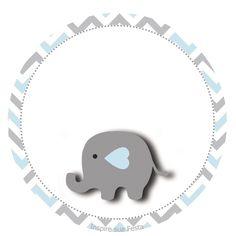 Tag-redonda-personalizada-gratis-elefantinho-azul.png (827×827)