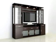 50 wall tv cabinet designs ideas for cozy family room 33 unit Modular unit furniture TV Cabinets Modern Tv Unit Designs, Modern Tv Wall Units, Living Room Tv Unit Designs, Modern Wall, Tv Unit Interior Design, Tv Unit Furniture Design, Tv Unit Decor, Tv Wall Decor, Wall Tv