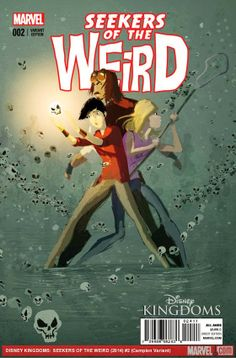 Between Disney: Cap's Comics - Disney Kingdoms: Seekers of the Weird #2