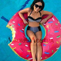 Barato Gigantic Donut piscina inflável flutua piscina brinquedos natação flutuador para piscina para adultos flutua inflável Donut anel da nadada brinquedo verão água, Compro Qualidade Bóias de piscina diretamente de fornecedores da China: Rosa/chocolate (duas-cores em-estoque agora)!!!